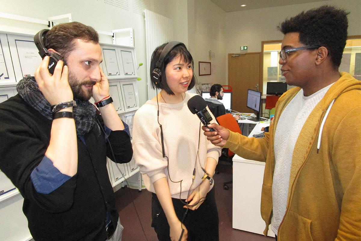 Nicola Petrarca, à gauche sur la photo