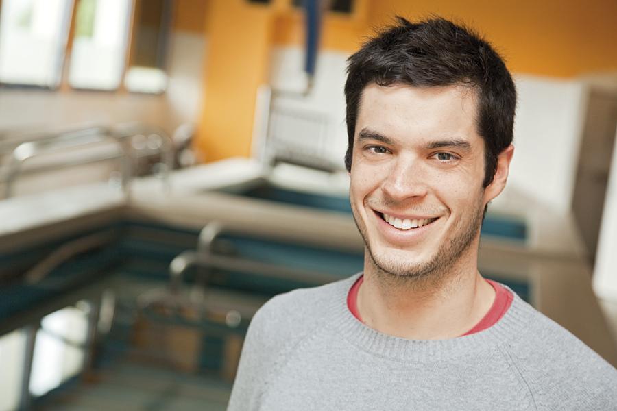 François, professeur en activité physique adaptée