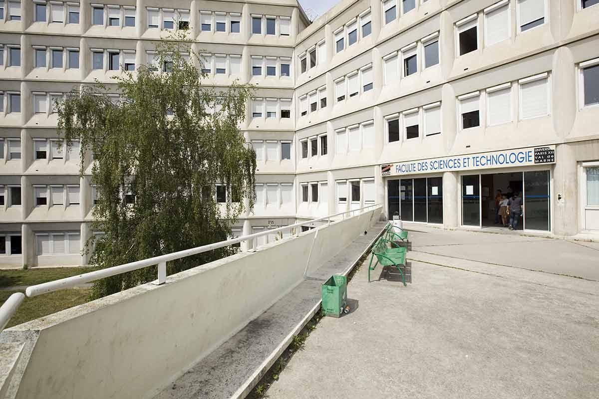 Bâtiment P - Campus Centre de Créteil