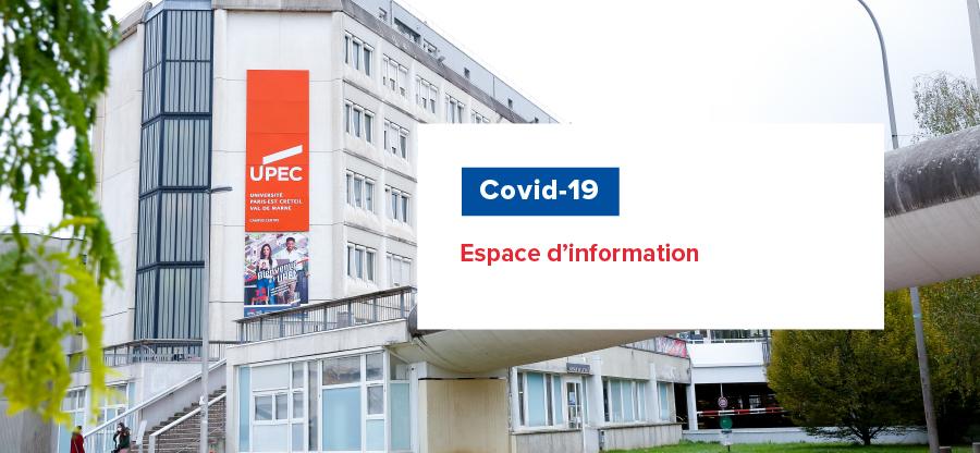 Covid-19 : espace d'information