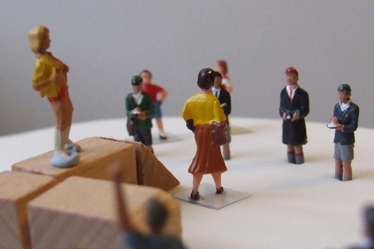 Figurines pour l'éducation sexuelle. Ross Angus/Flickr, CC BY
