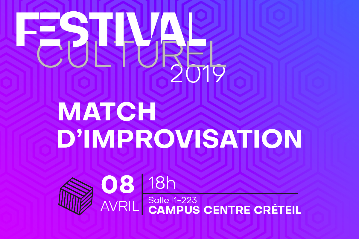Festival culturel UPEC - match d'improvisation