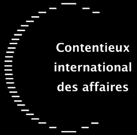 Contentieux international des affaires - logo