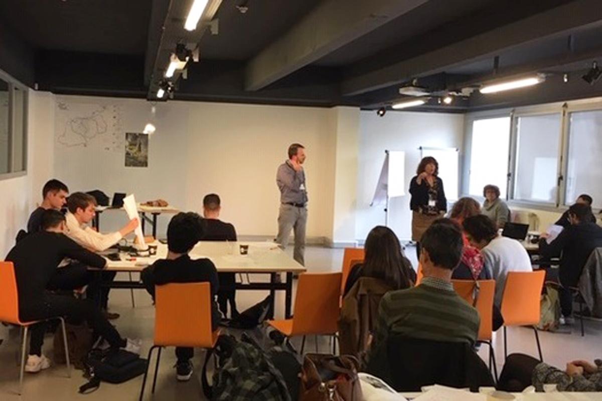 Atelier étudiants ESPE Grand Paris Express