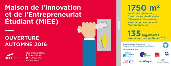 Maison de l'Innovation et de l'Entrepreneuriat Etudiant