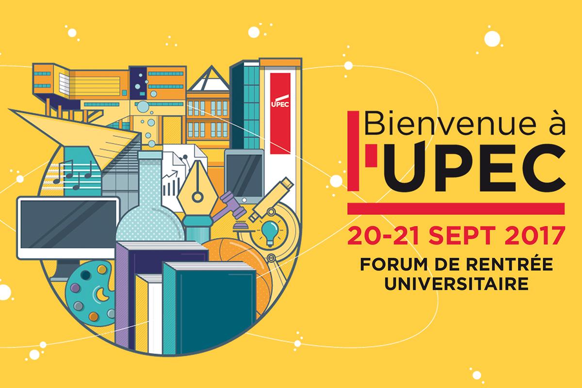 Visuel - bienvenue à l'UPEC