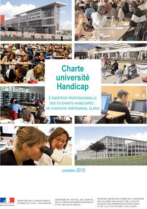 Charte Université Handicap