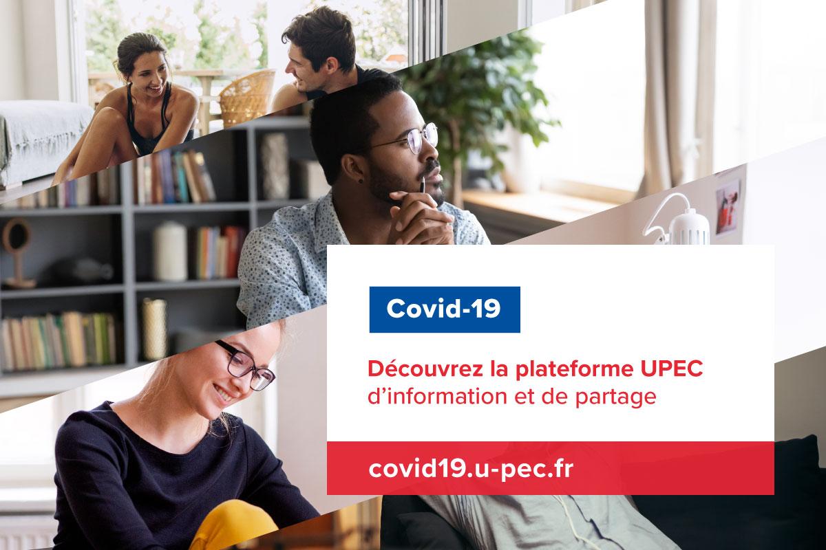 COVID 19 plateforme UPEC