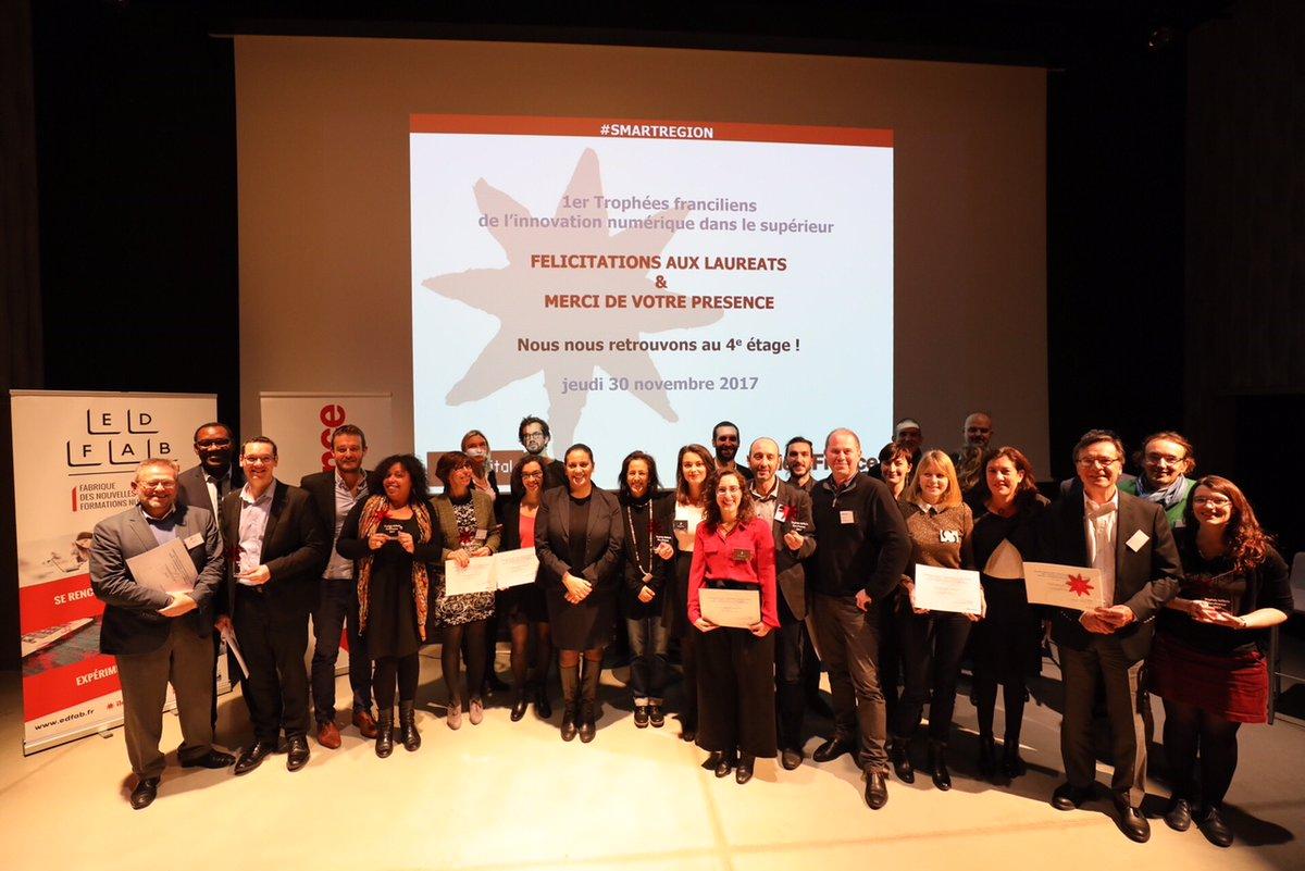 Trophées franciliens de l'innovation 2017