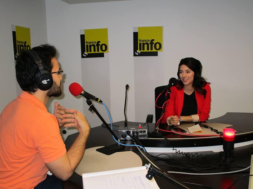 Atelier média des étudiant-e-s du Delcife à la Maison de la Radio