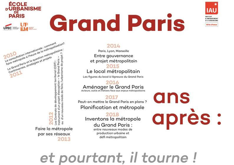10e édition de la Journée Grand Paris à l'EUP