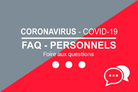 FAQ Personnels - Covid 19