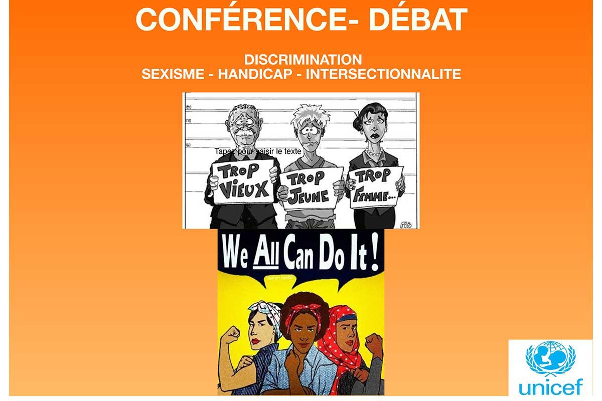 Conférence-débat discrimination