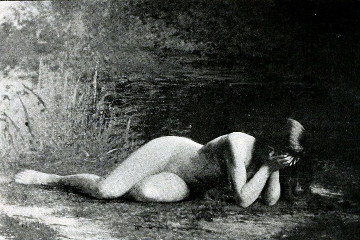 Hodebert - Nymphe qui pleure