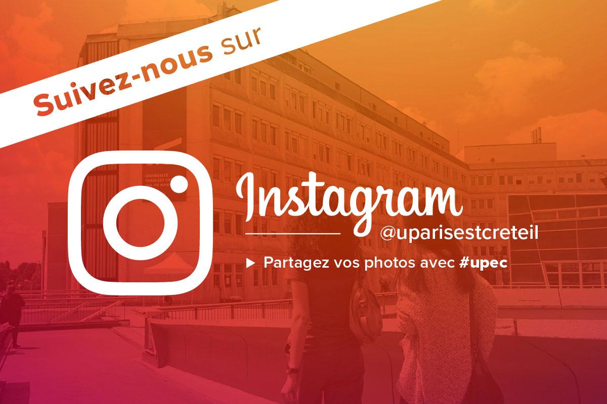 L'UPEC lance son compte Instagram @uparisestcreteil !