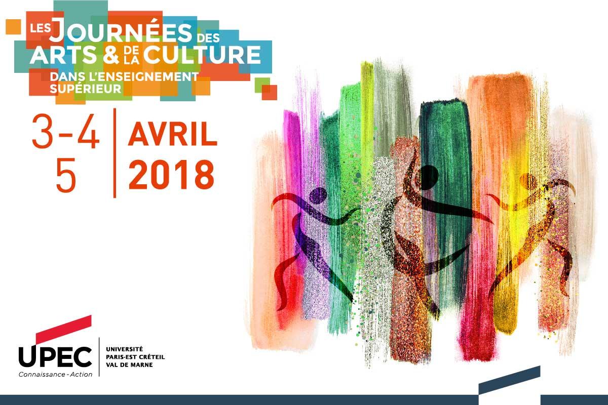 Journées nationales des arts et de la culture dans l'enseignement supérieur 2018 (JACES) à l'UPEC