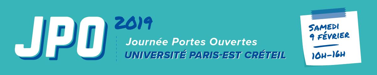 Journée Portes Ouvertes - JPO UPEC - 9 février 2019