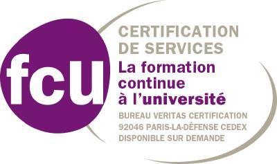 Logo Certification de services FCU