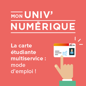 carte multiservices UPEC