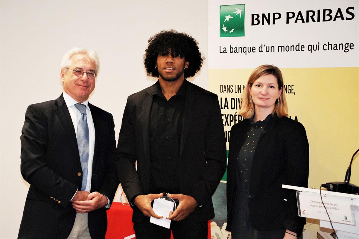 Bourses UPEC et BNP Paribas 2019 - Noah Bactus