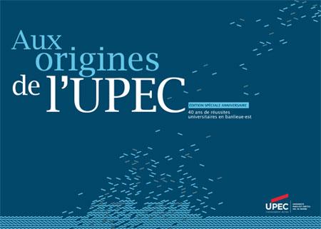 "Livre ""Aux origines de l'UPEC"""