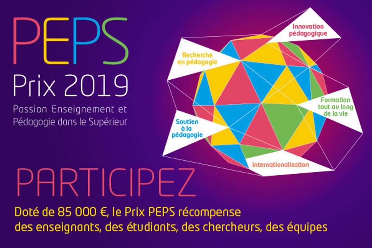 appel à projet prix Peps 2019