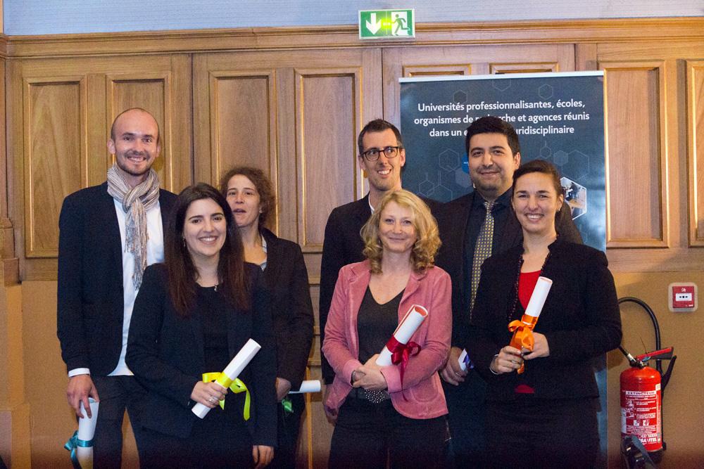 La 9e édition des Prix de thèses UPE récompense quatre membres de l'UPEC