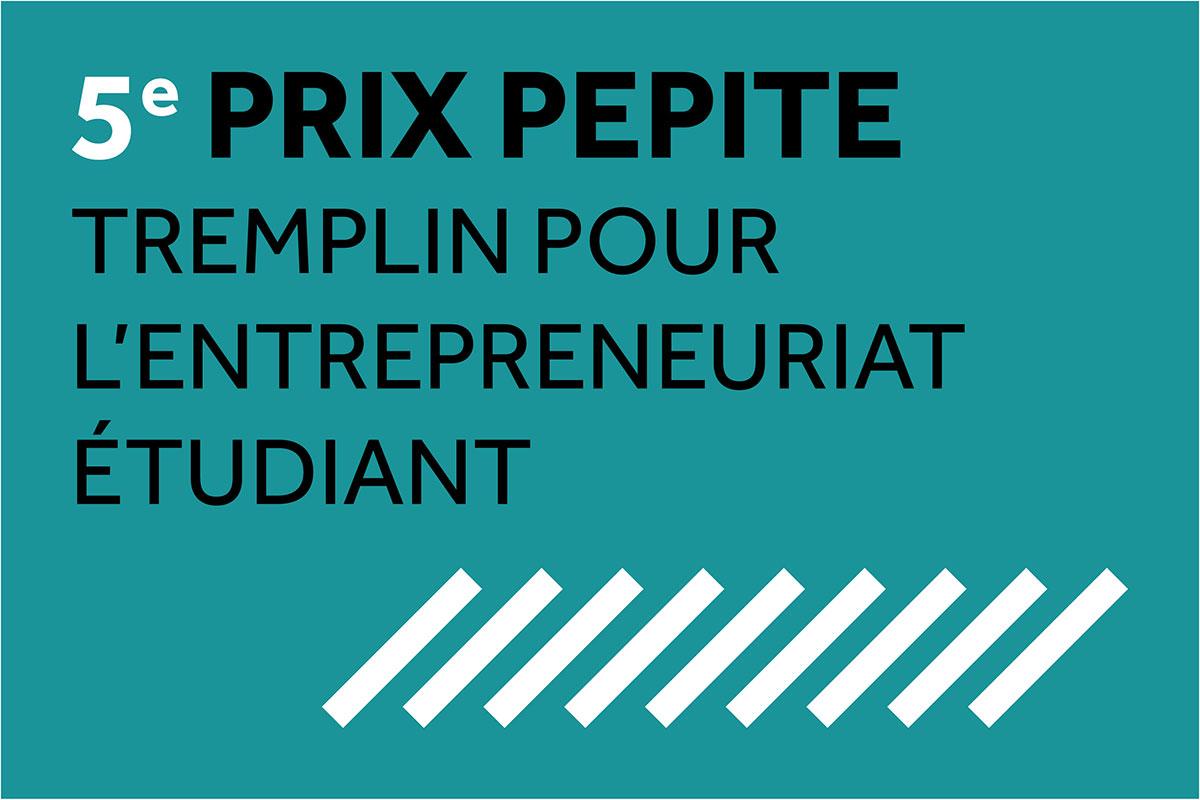 Prix PEPITE 2018