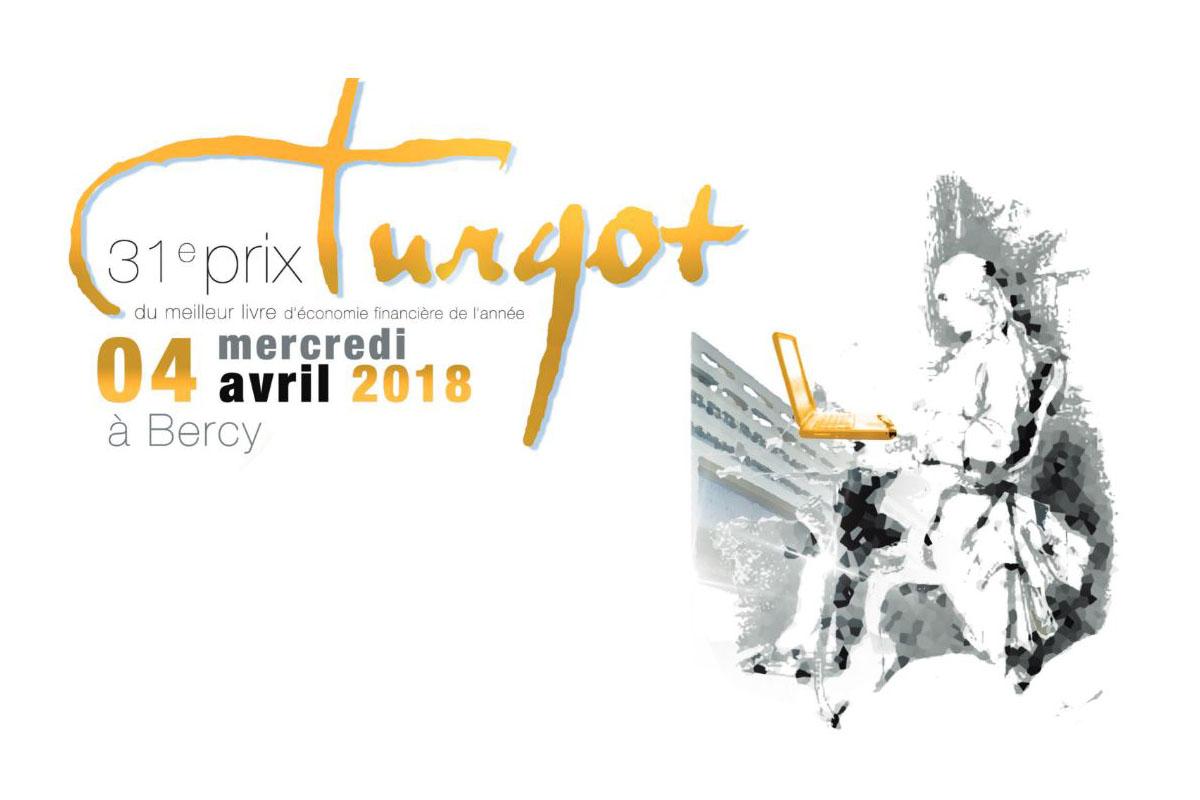 Prix Turgot 2018 du meilleur livre d'économie financière de l'année