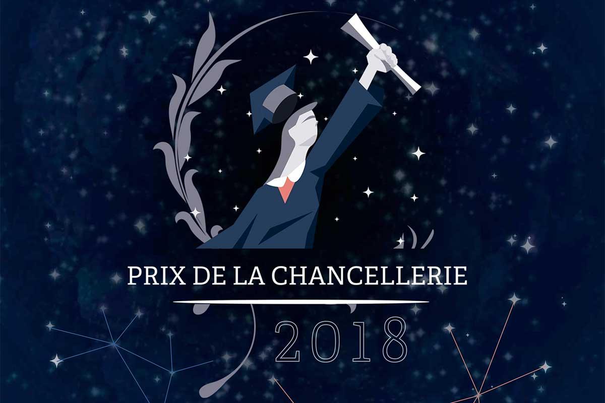 Prix de la chancellerie des universités 2018
