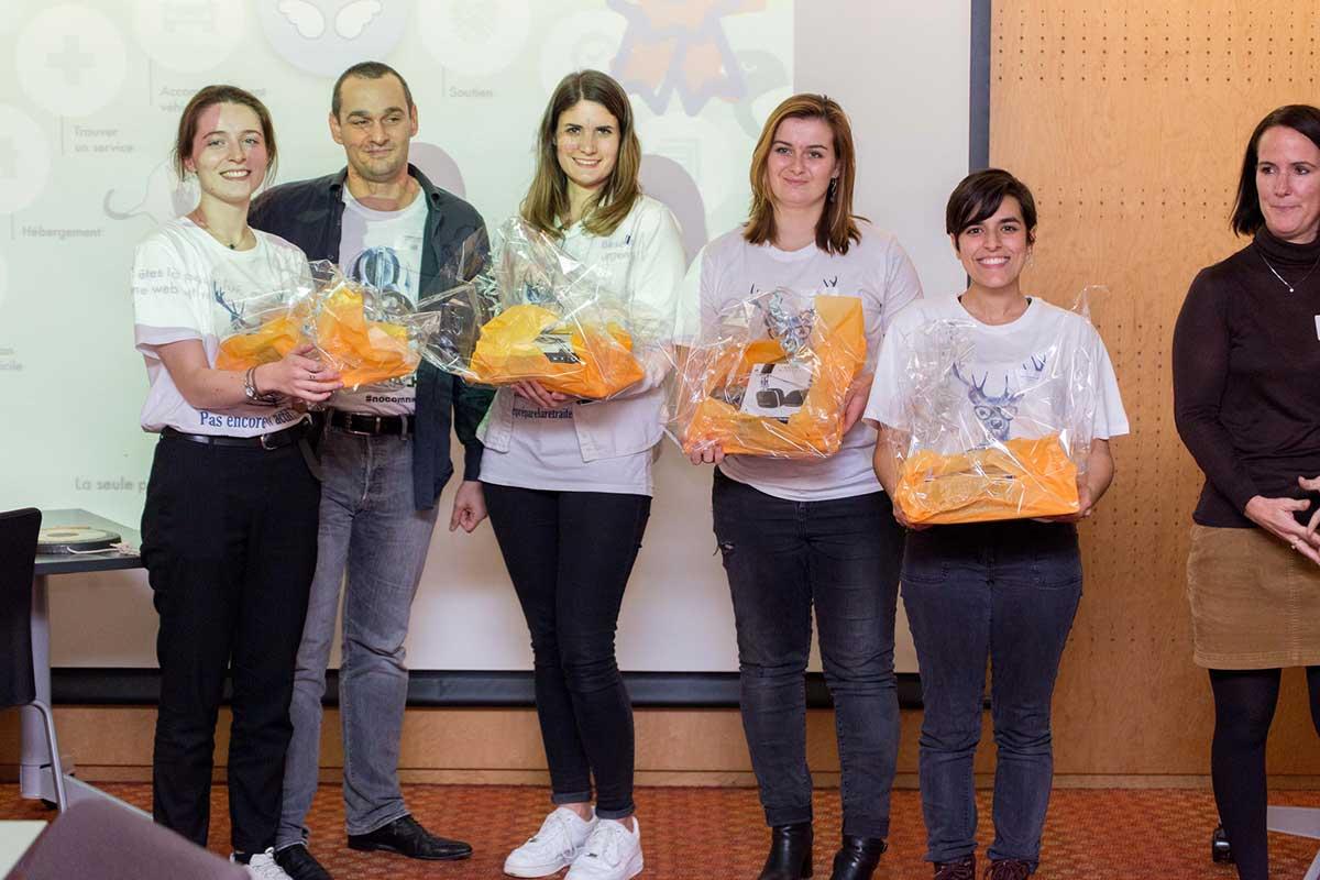 Projet fidèle remporte le 2e prix du challenge silver awards