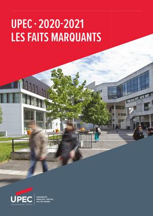 Brochure Faits marquants de l'UPEC - 2020-21