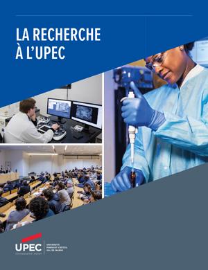 Brochure recherche à l'UPEC