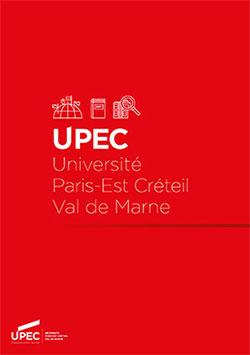 """Leaflet """"Université Paris-Est Créteil"""