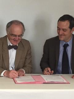 Signature de convention entre l'UPEC et RATP