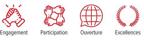 UPEC - nos valeurs