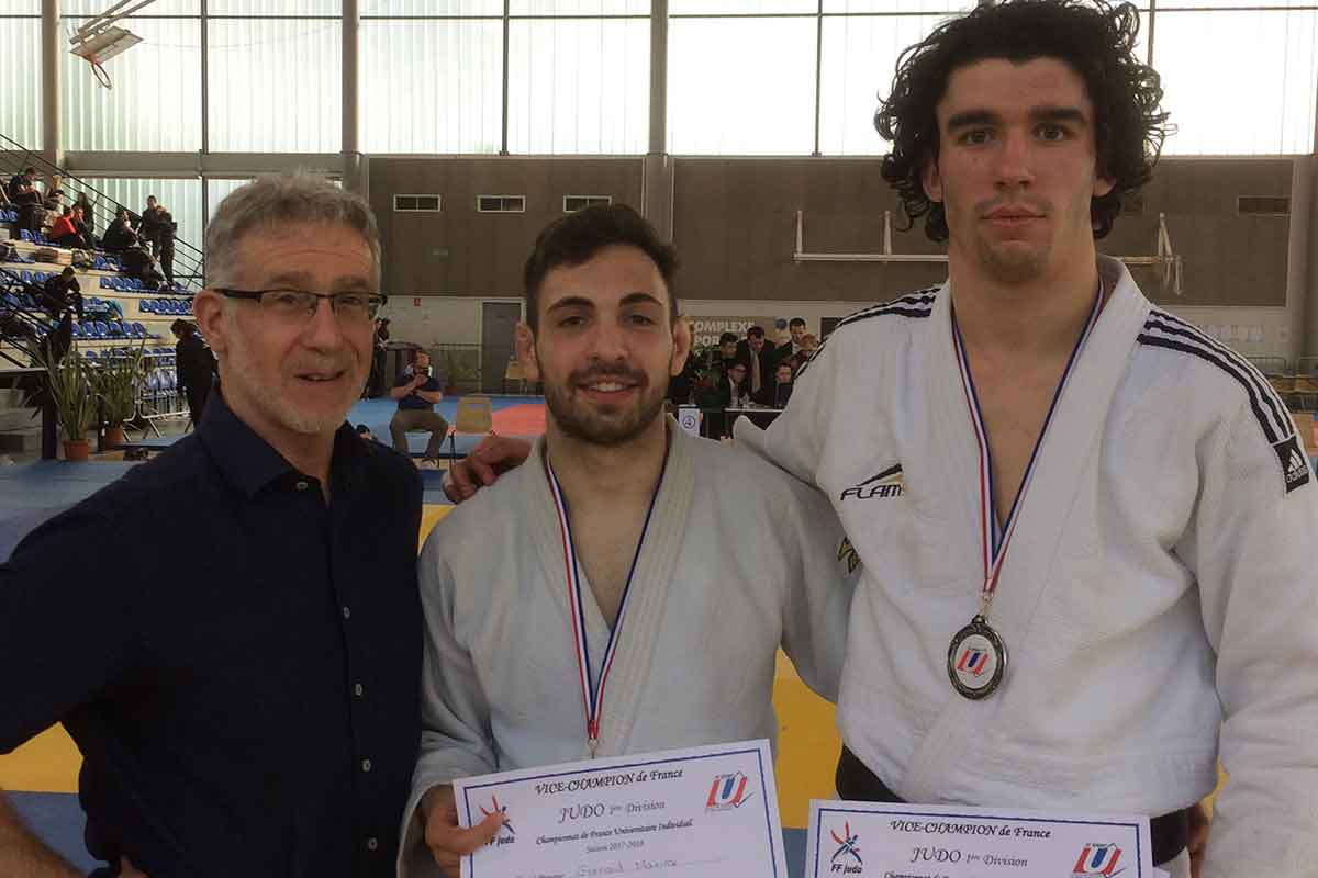 Bruno Mannier et les vices champions