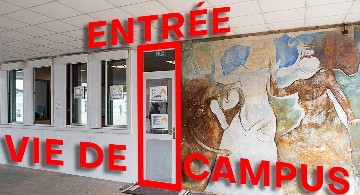 locaux Vie de Campus UPEC