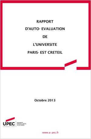 Rapport d'auto-évaluation de l'Université Paris-Est Créteil