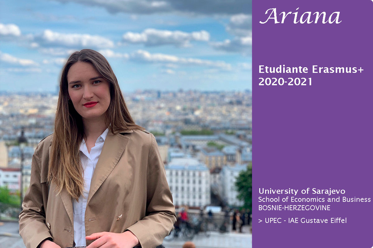 le témoignage d'Ariana, étudiante Erasmus+